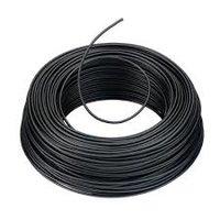 VD Installatie draad 1,5 MM2 zwart rol á 100 meter