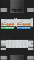 Schneider groepenkast ADV 1 fase, 6 groepen + beltrafo - ADVG23234TH1