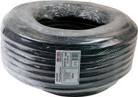 Flexibele buis halogeenvrij (5/8) 16 mm zwart - rol á 50 meter -